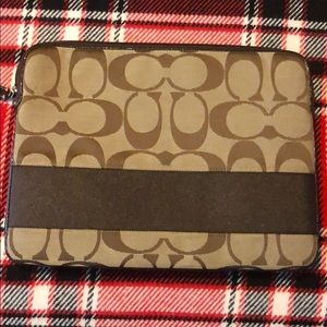 COACH laptop case sleeve
